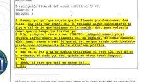 Oficio de la UCO sobre Enrique Arnaldo