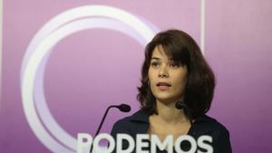 """Díaz se desmarca de Podemos sobre la petición de dimisión de Batet y pide """"bajar la tensión"""""""