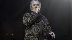Joan Manuel Serrat, durante un concierto.