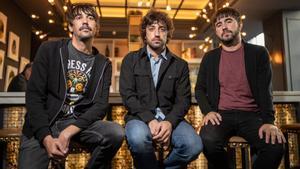Los componentes del grupo indie Lori Meyers posan durante la entrevista mantenida con EFE en Madrid. EFE/Rodrigo Jiménez