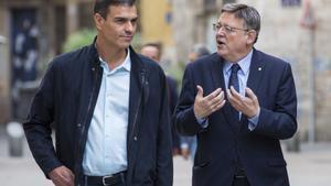 Ximo Puig señala el camino de la descentralización a Sánchez: aleja 11 entidades de Valencia